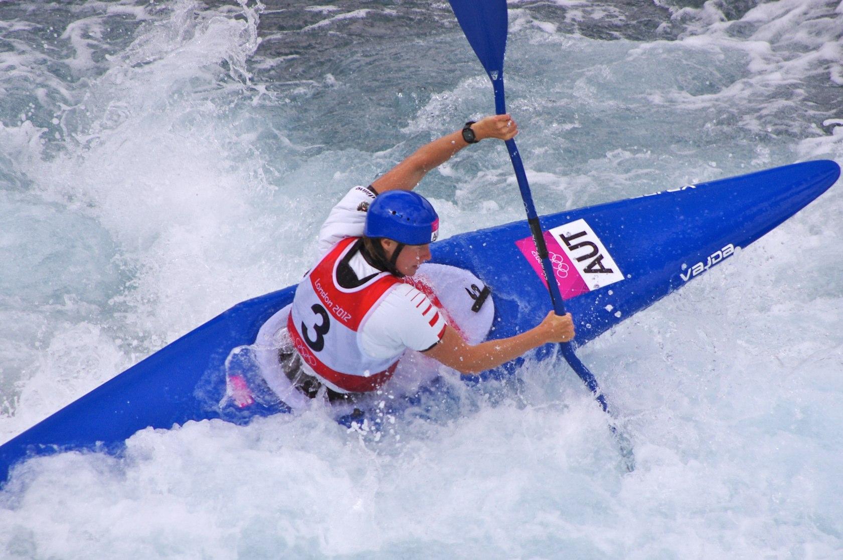 FileSlalom Canoeing 2012 Olympics W K1 AUT Corinna Kuhnle