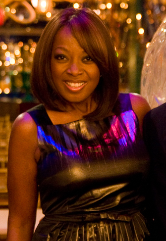 English: Star Jones at a Hudson Union Society ...