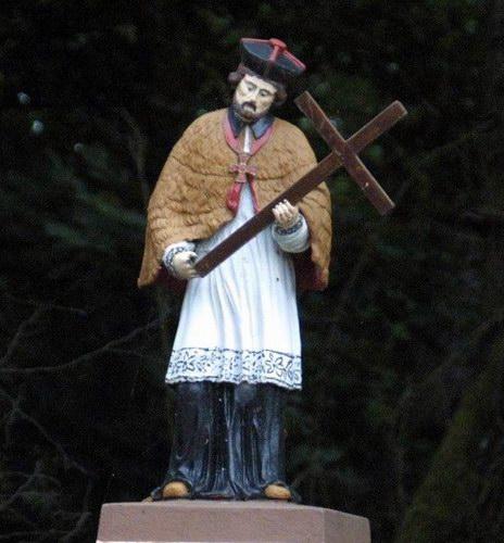 Plik:Statue of John of Nepomuk in Lidzbark Welski, Poland ...
