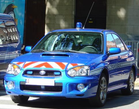 File Subaru Impreza Gendarmerie Fran 231 Aise Jpg Wikimedia
