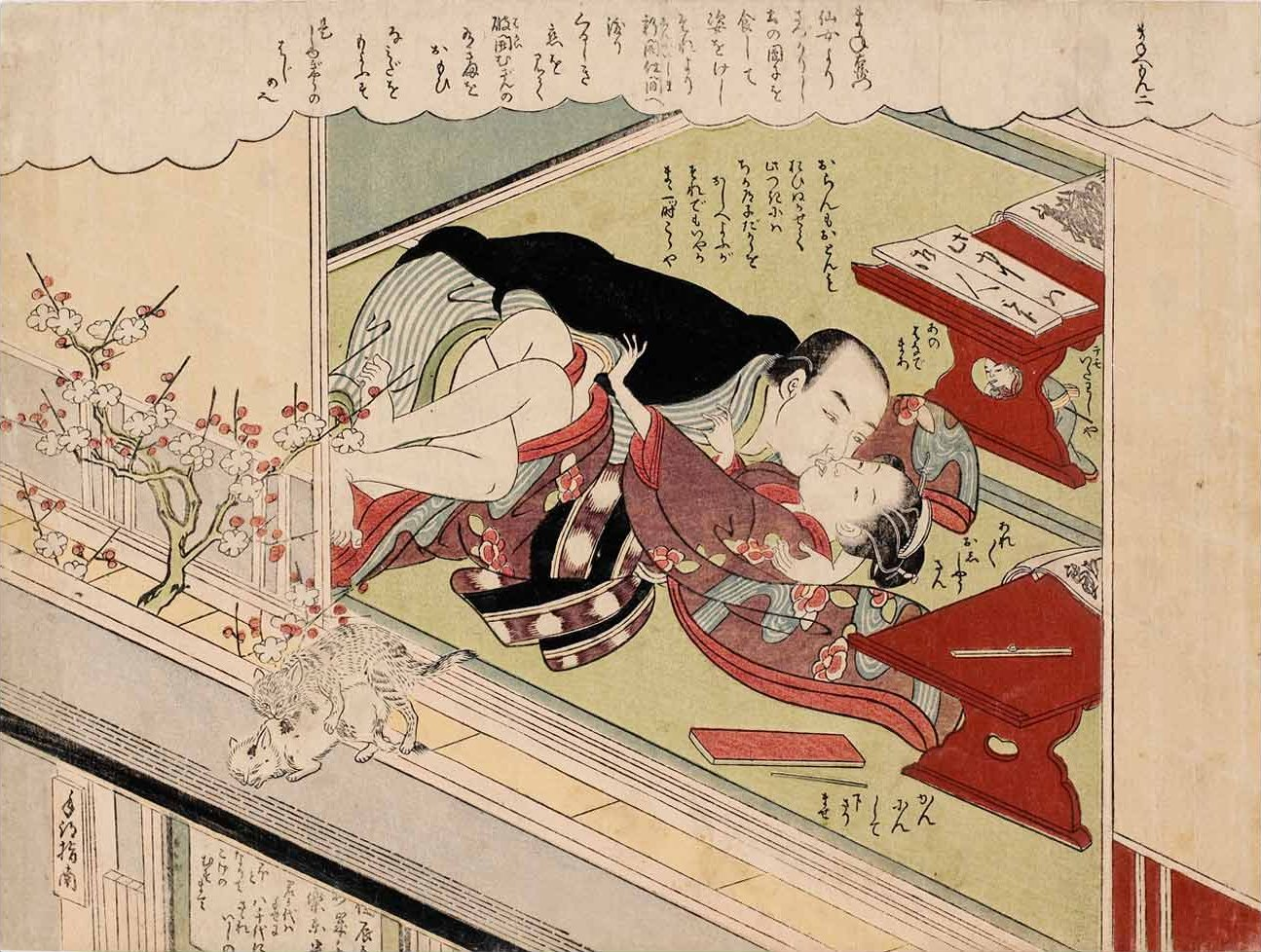 Japanese sex book