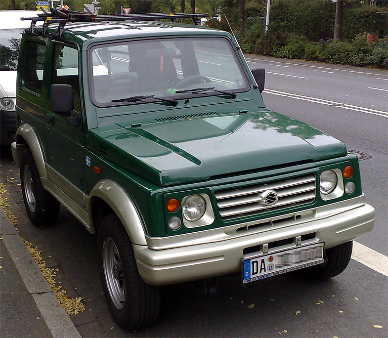 caso suzuki samurai Suzuki samurai already had its brand appeal as a rugged utility vehicle in canada the stylish looking little jeep along with its stylish looks made the car popular .