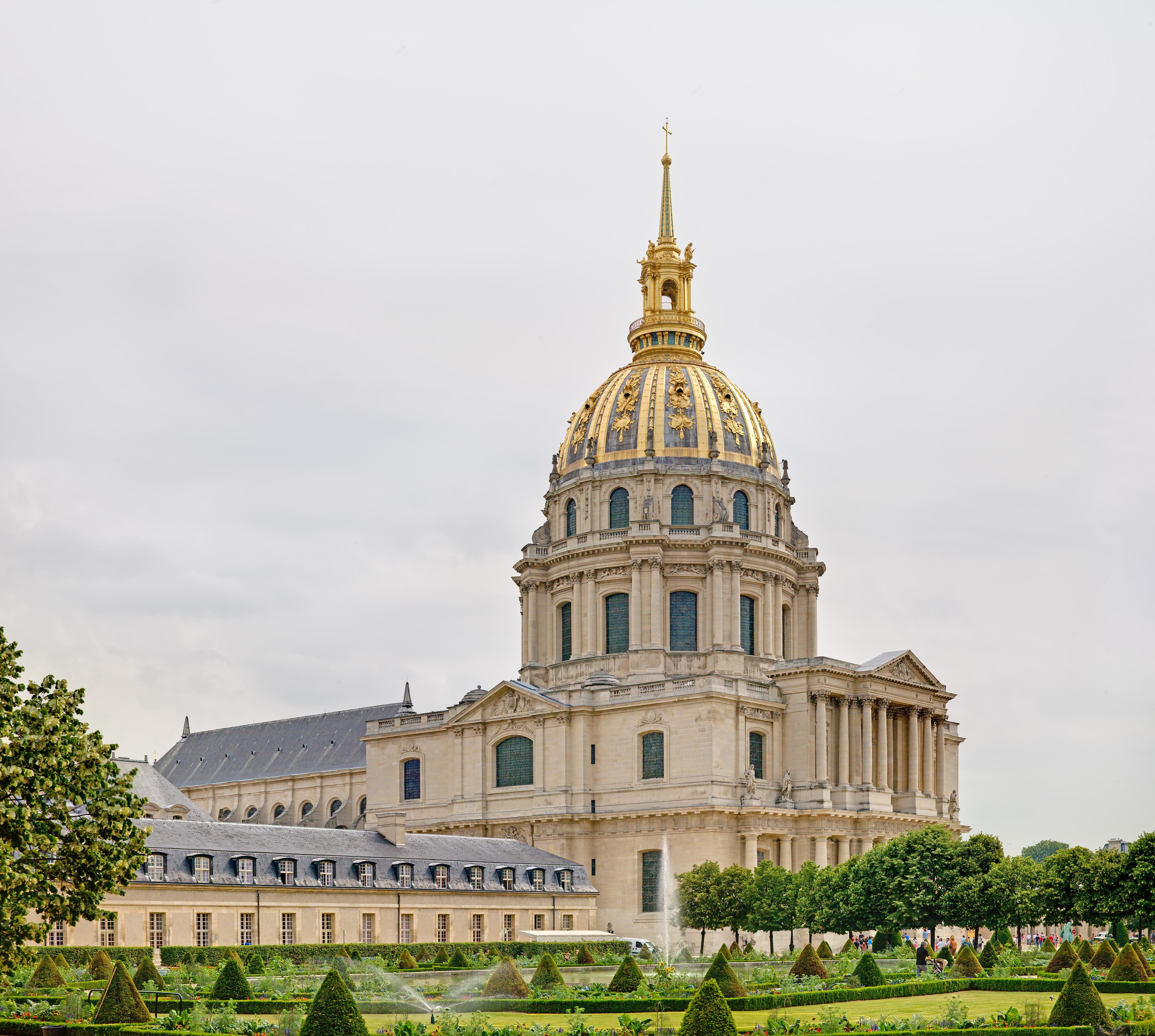 File the dome church at les invalides july for Les photos de paris
