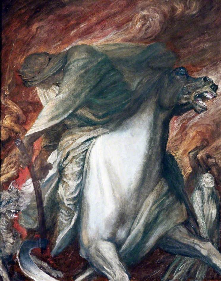 File:The Rider on the Pale Horse - George Frederic Watts jpg
