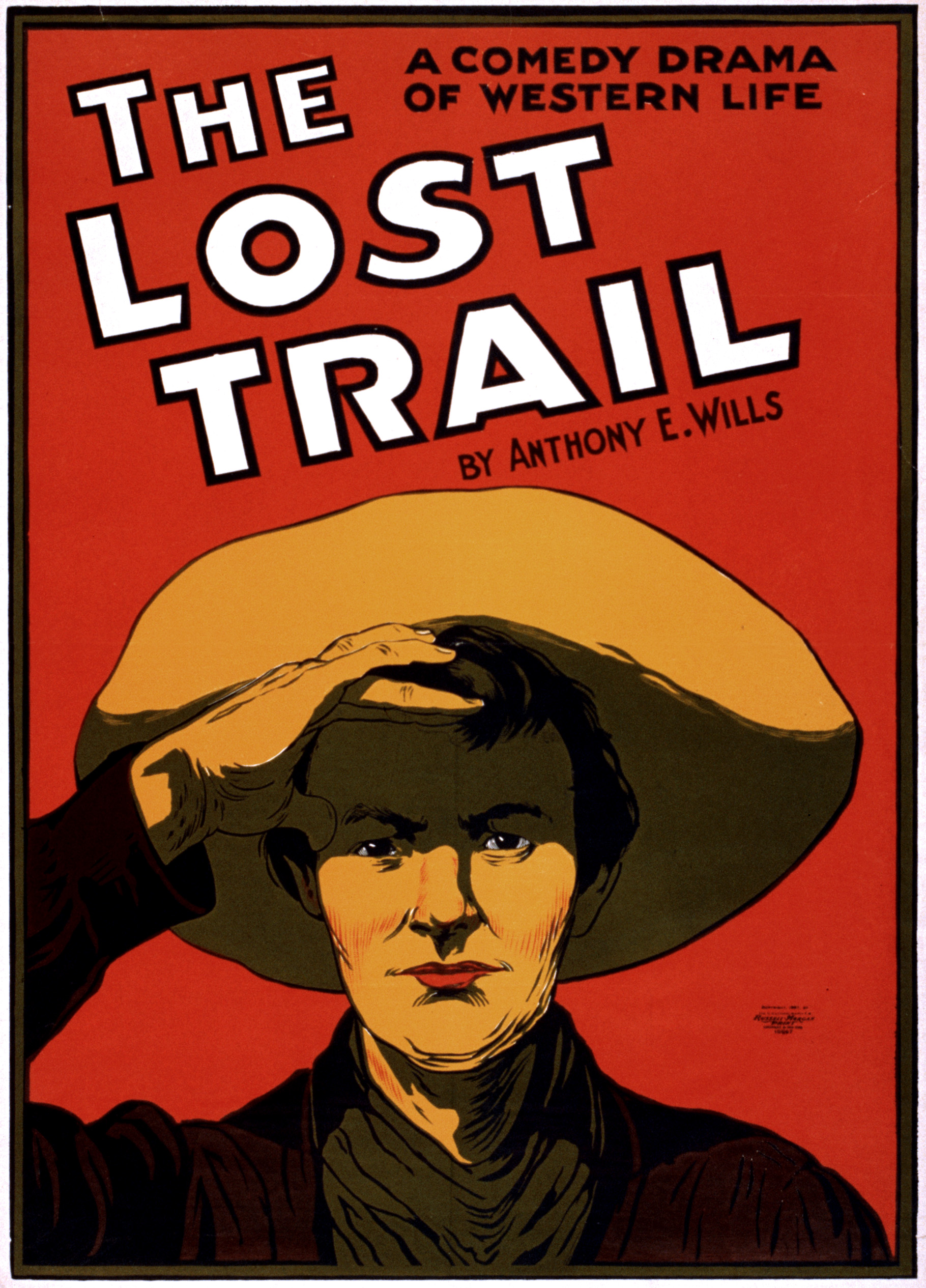 filethe lost trail broadway poster 1907jpg wikimedia
