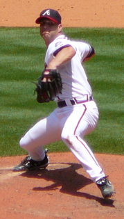 Tim Hudson was the Braves' 2013 Opening Day starting pitcher. Hudson also started in 2006 and 2008.