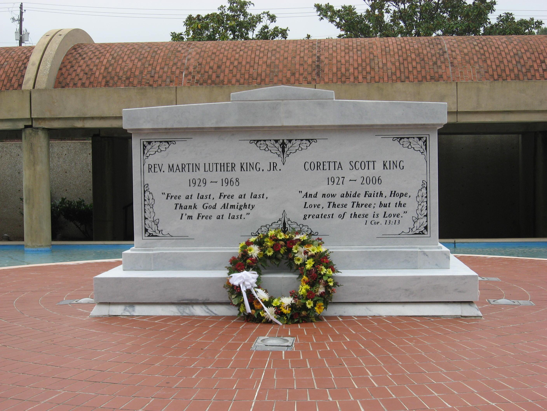 ... Luther King & Coretta Scott King at MLK Historic Site in Atlanta.JPG