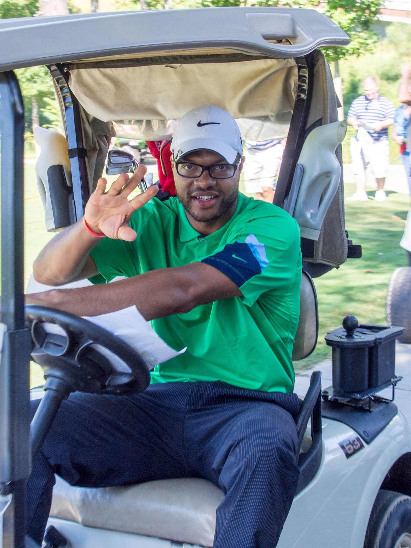 File Torry Holt on his golf cart ccf4803d0