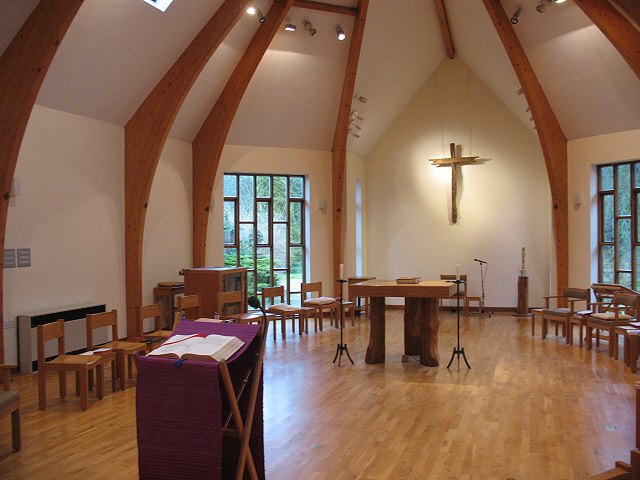File:Turvey Abbey, chapel interior - geograph.org.uk ...