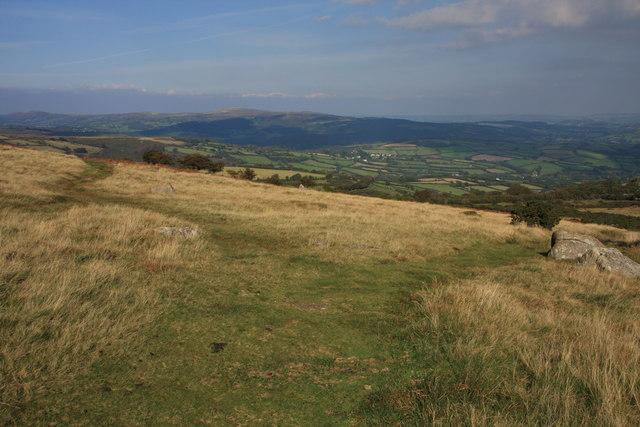 Two Moors Way split - geograph.org.uk - 987412