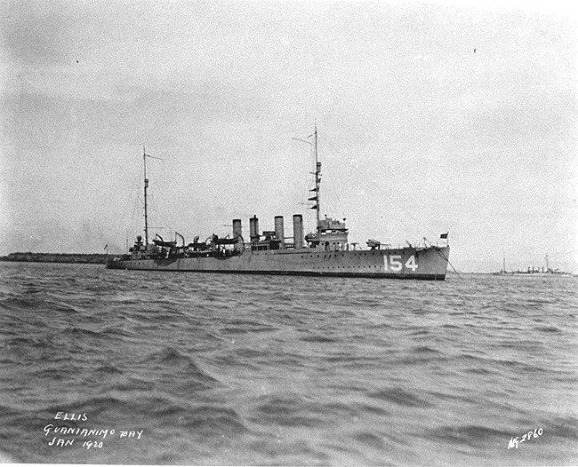 USS Ellis (DD-154)