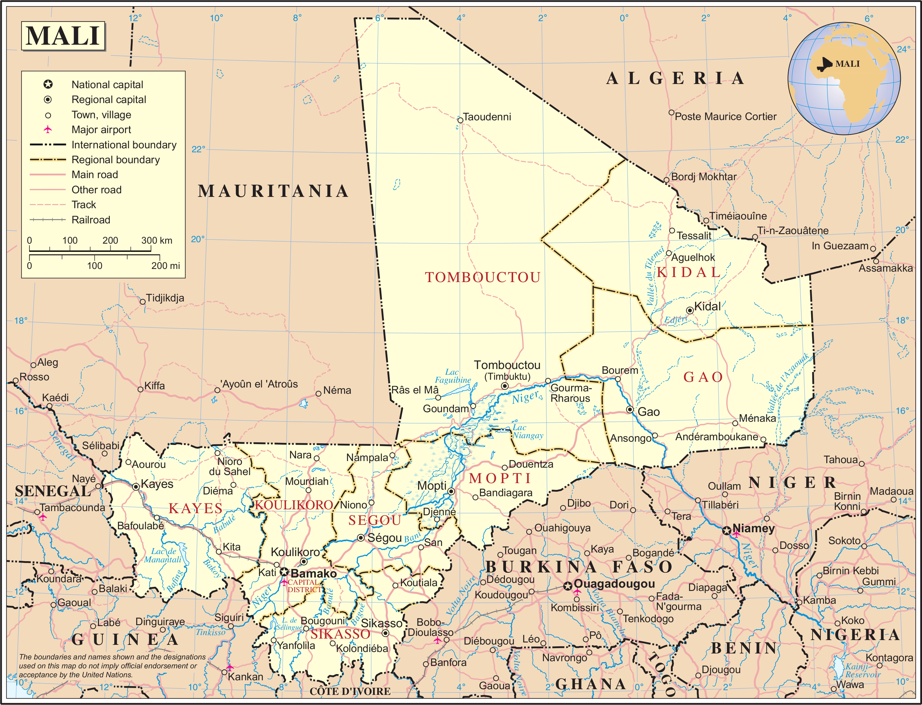 Picture of: Geography Of Mali Wikipedia