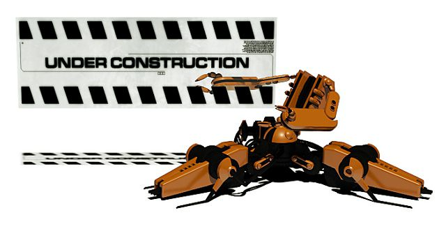Under Construction Robot