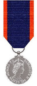 Union of South Africa Queen's Medal for Bravery 1953