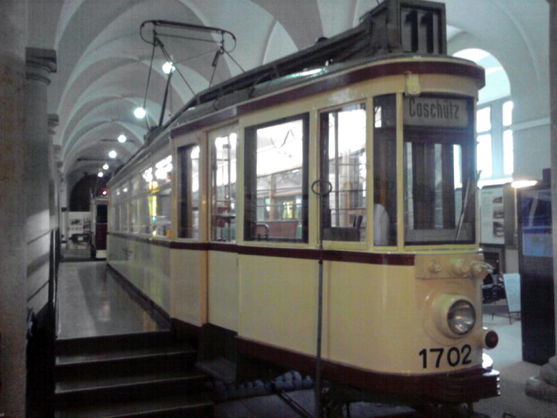 """Großer Hecht"" im Dresdner Verkehrsmuseum"