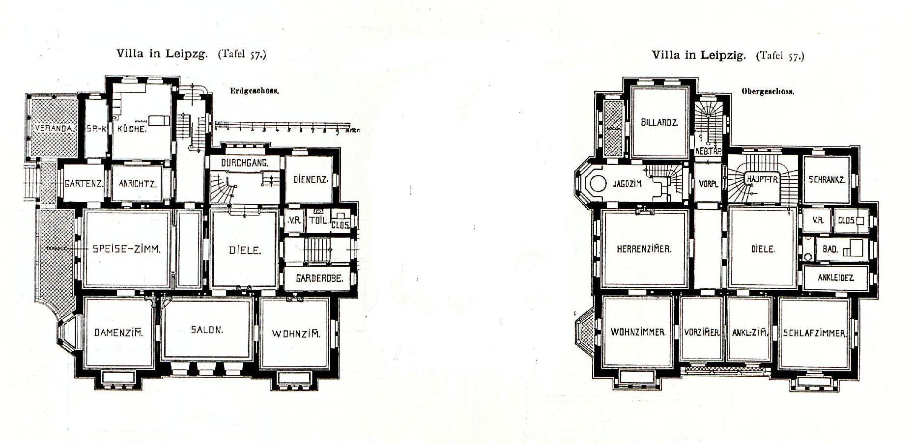 datei villa karl tauchnitzstrasse 10 leipzig architekt peter dypwad tafel 57 kick jahrgang. Black Bedroom Furniture Sets. Home Design Ideas