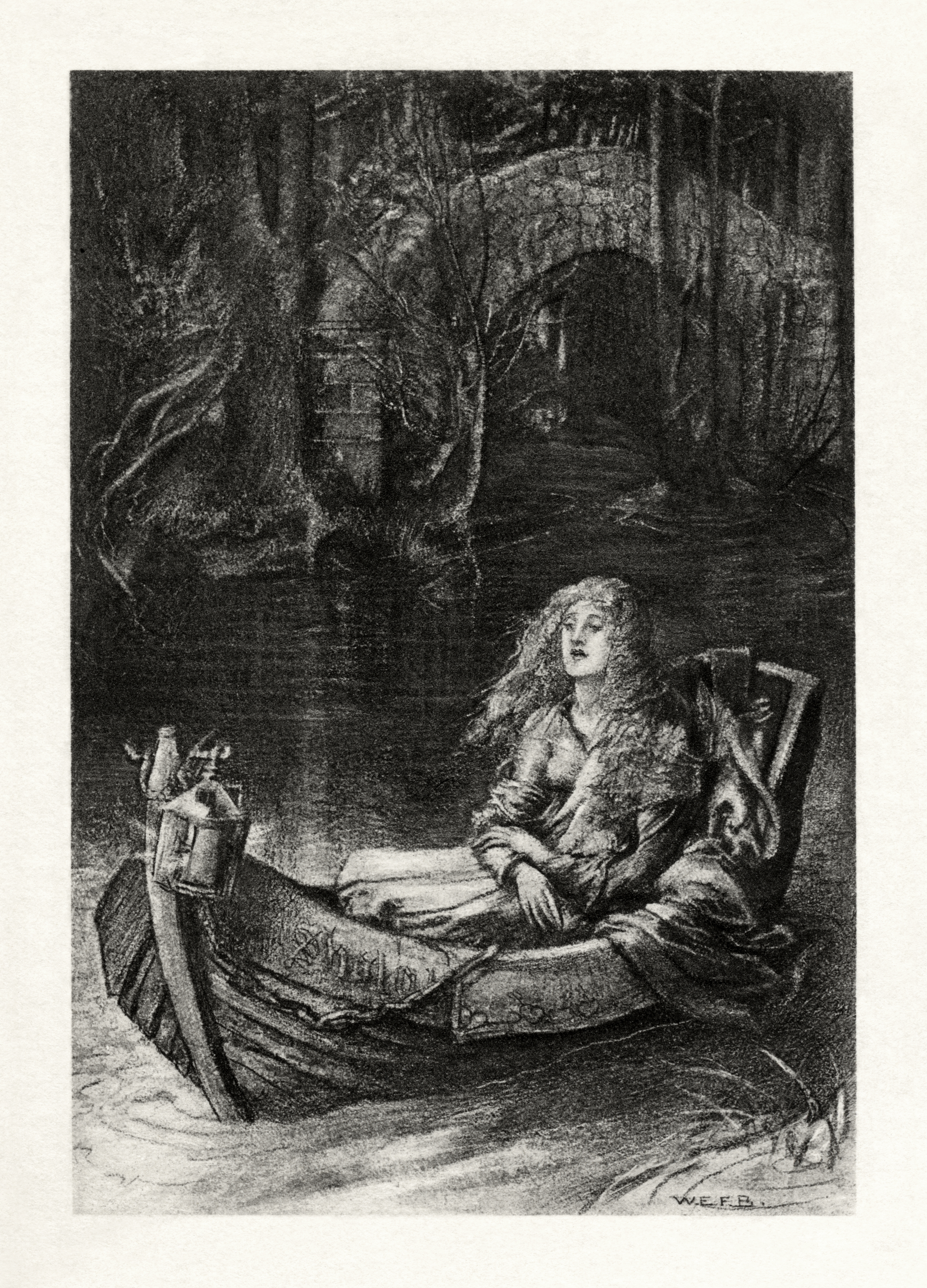 lady of shalott The lady of shalott, a romantic poem by the english poet alfred lord tennyson (1809-1892.