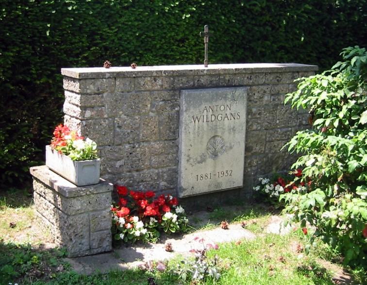 Datei:Wiener Zentralfriedhof - Gruppe 14 C - Anton Wildgans.jpg