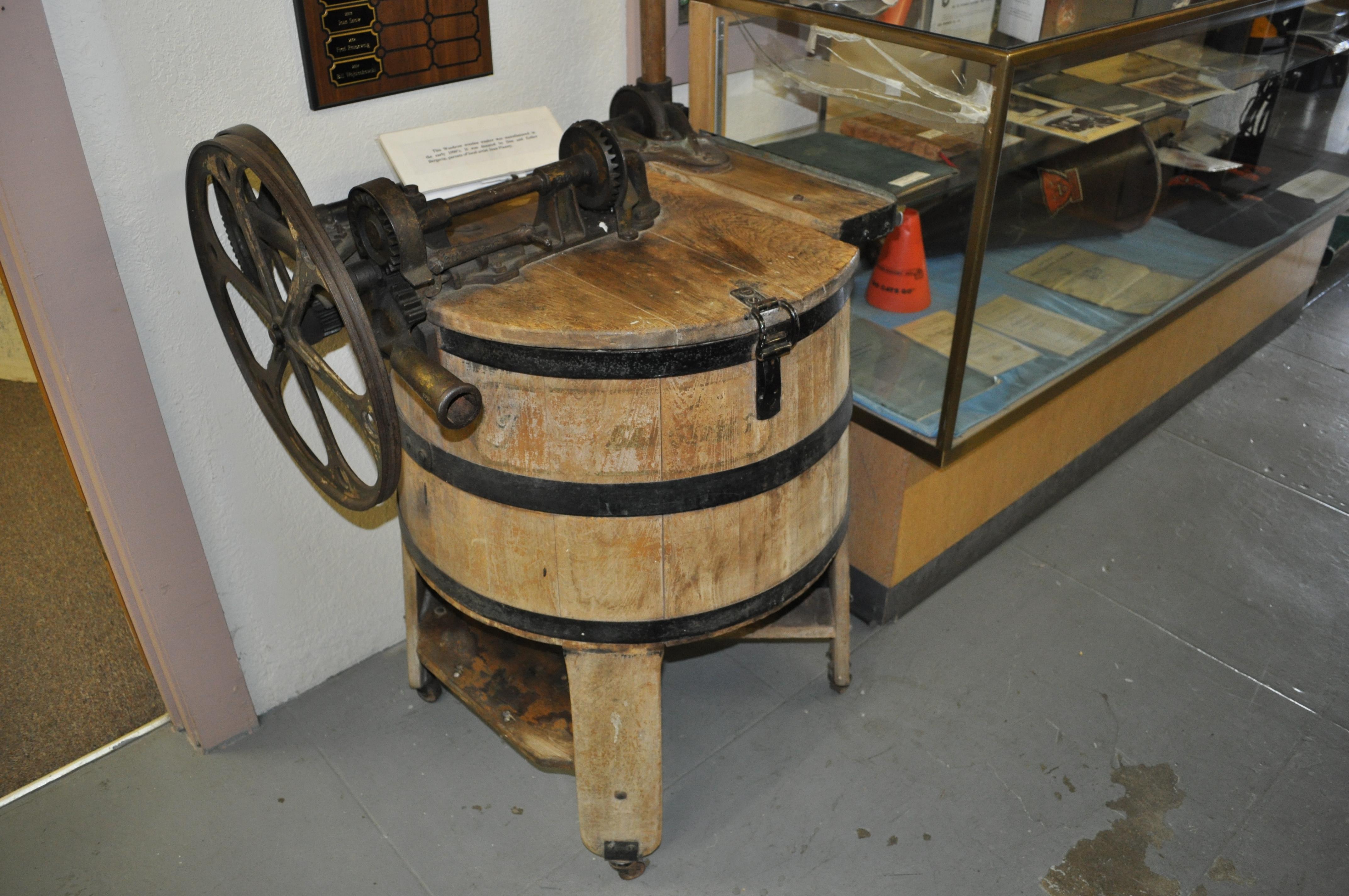 washing machine history