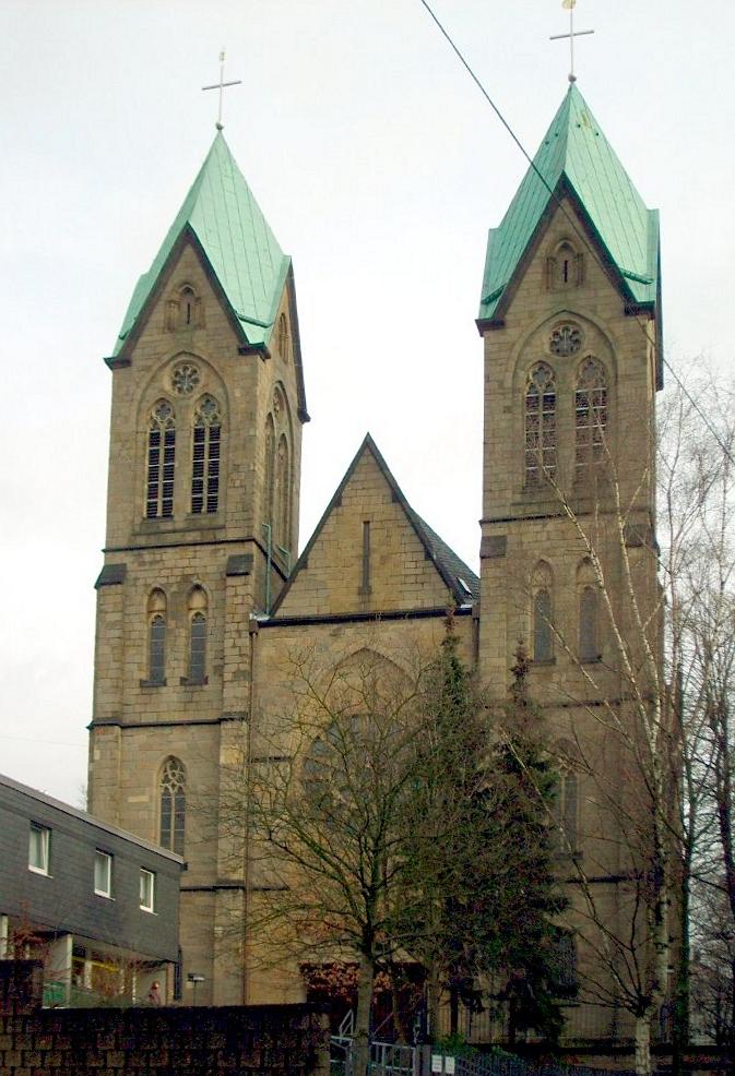 Wuppertal barmen katholische kirche