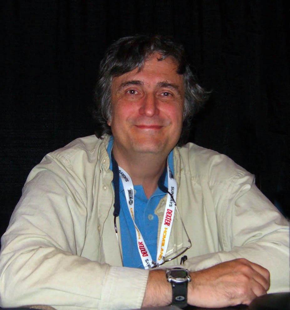 Petrucha at the 2012 [[New York Comic Con]].