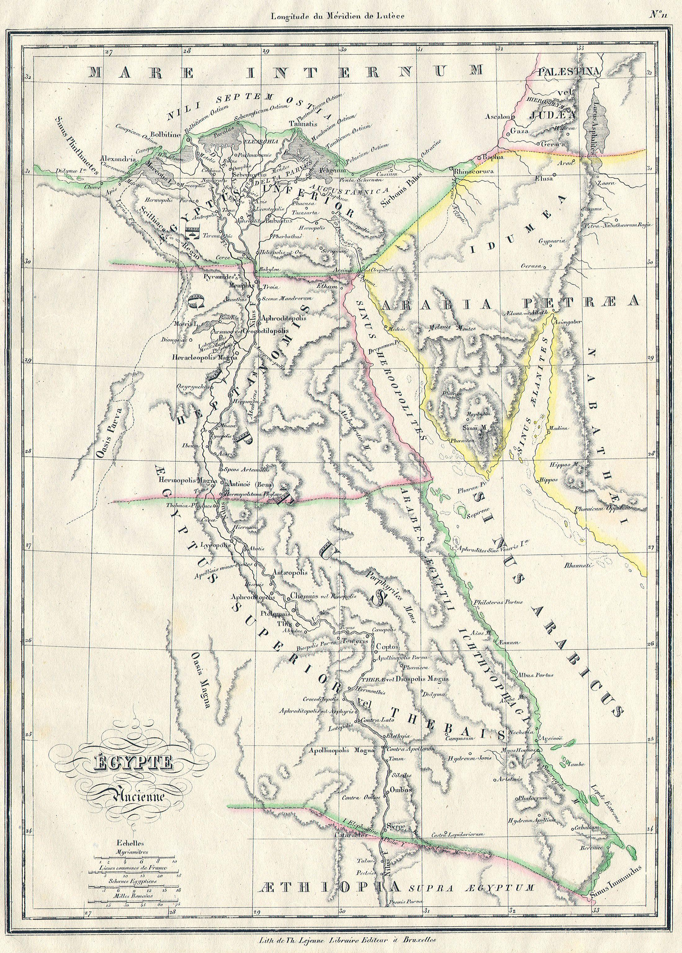 File:1837 Malte-Brun Map of Ancient Egypt, Nubia ( Sudan ) and ...