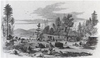 File:1858 StJermainsHotel ChazyLakeNY bySSKilburn afterRPMallory BallousPictorial.png
