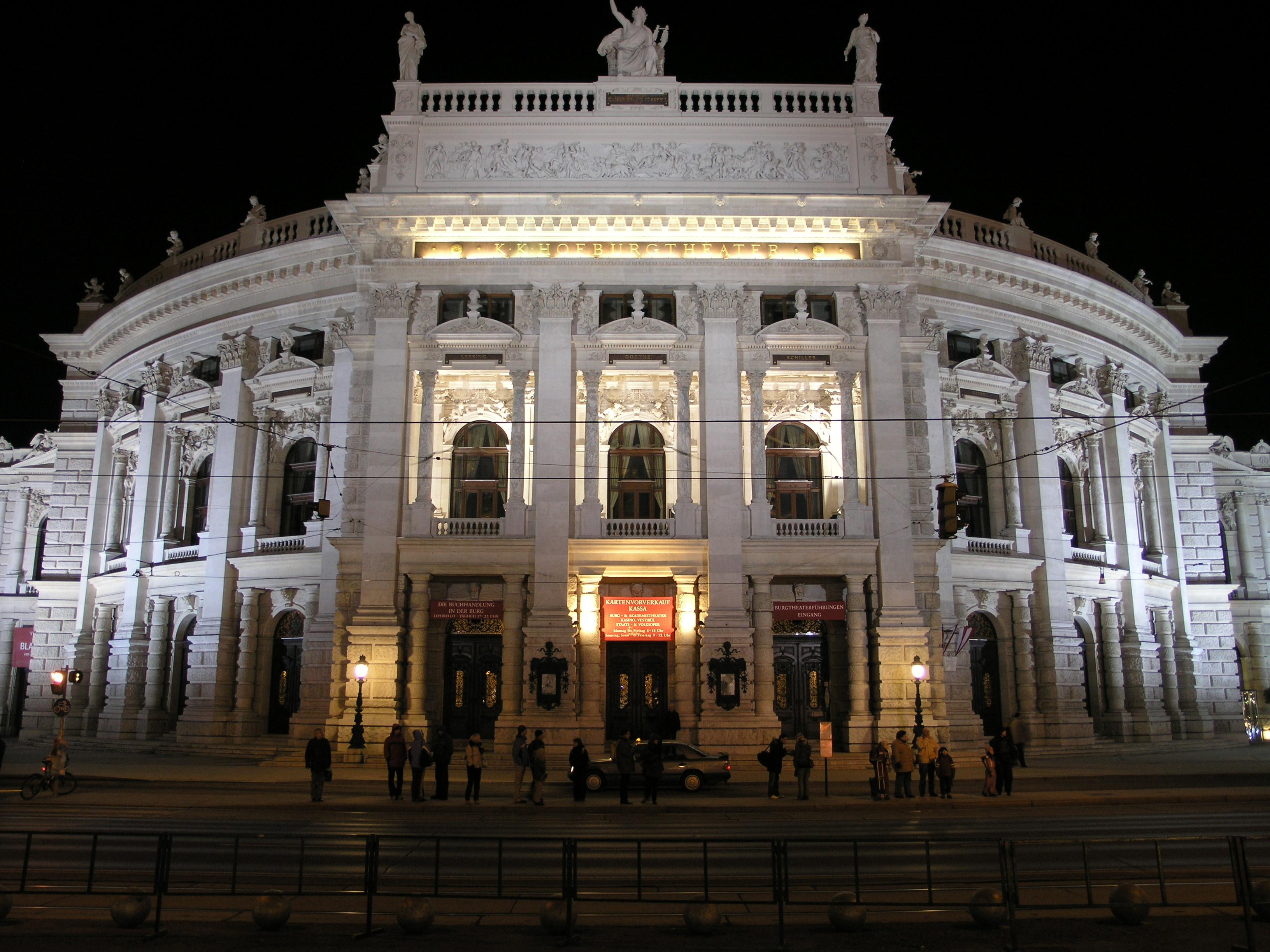 Das Wiener Hofburgtheater