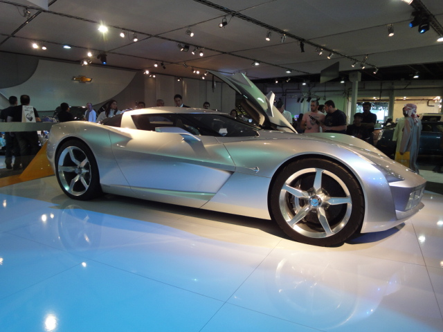 File 2009 Chevrolet Corvette Stingray Concept Jpg Wikimedia Commons