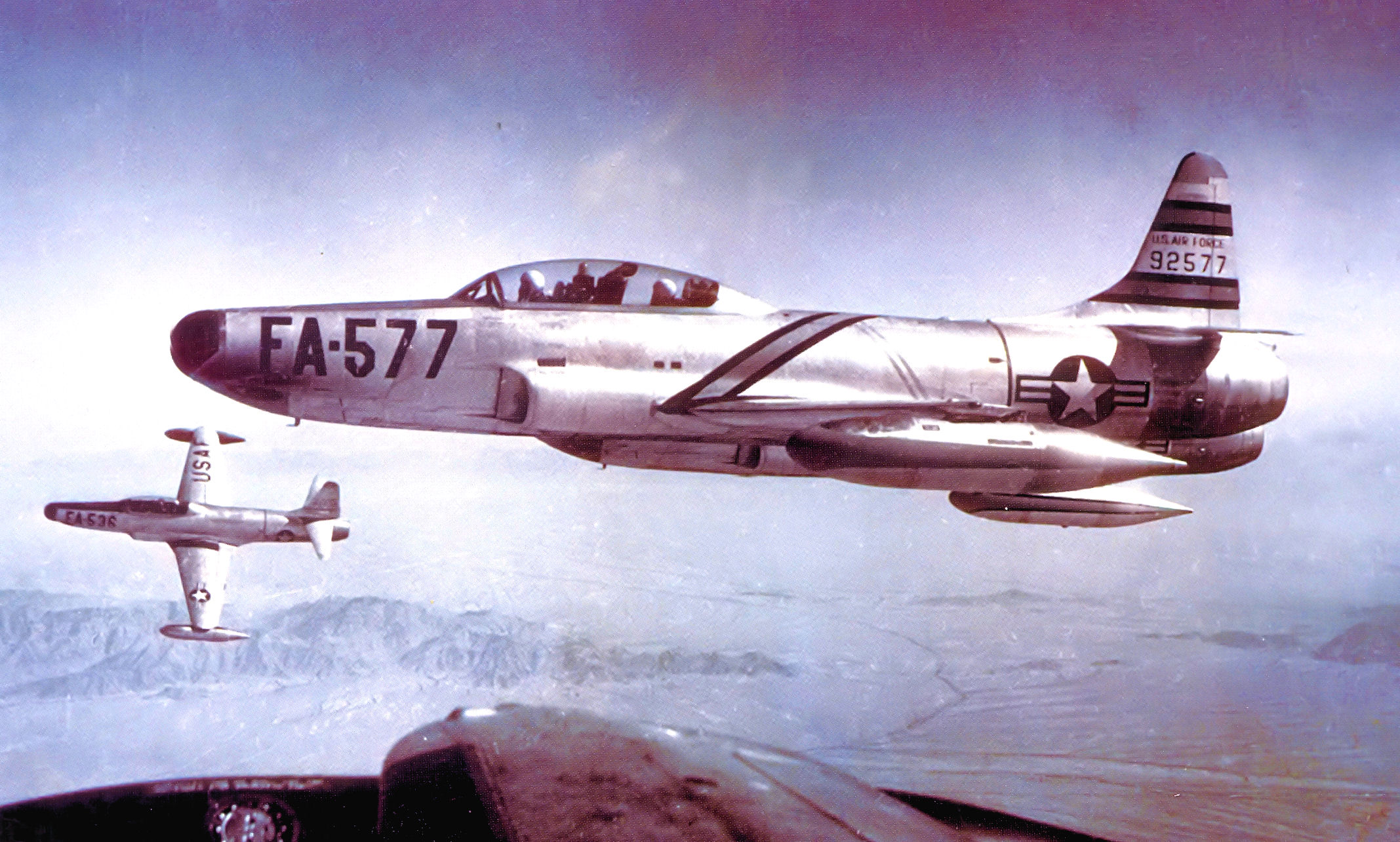 File:317th Fighter-Interceptor Squadron Lockheed F-94A-5-LO 49