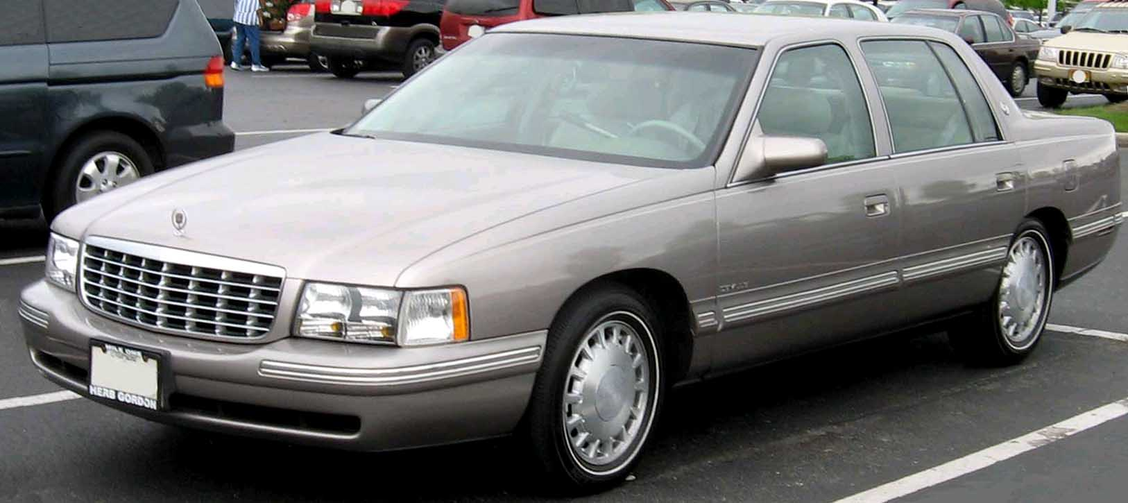 File 97 99 Cadillac Deville Jpg Wikimedia Commons