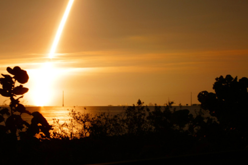 space shuttle endeavour night launch - photo #17