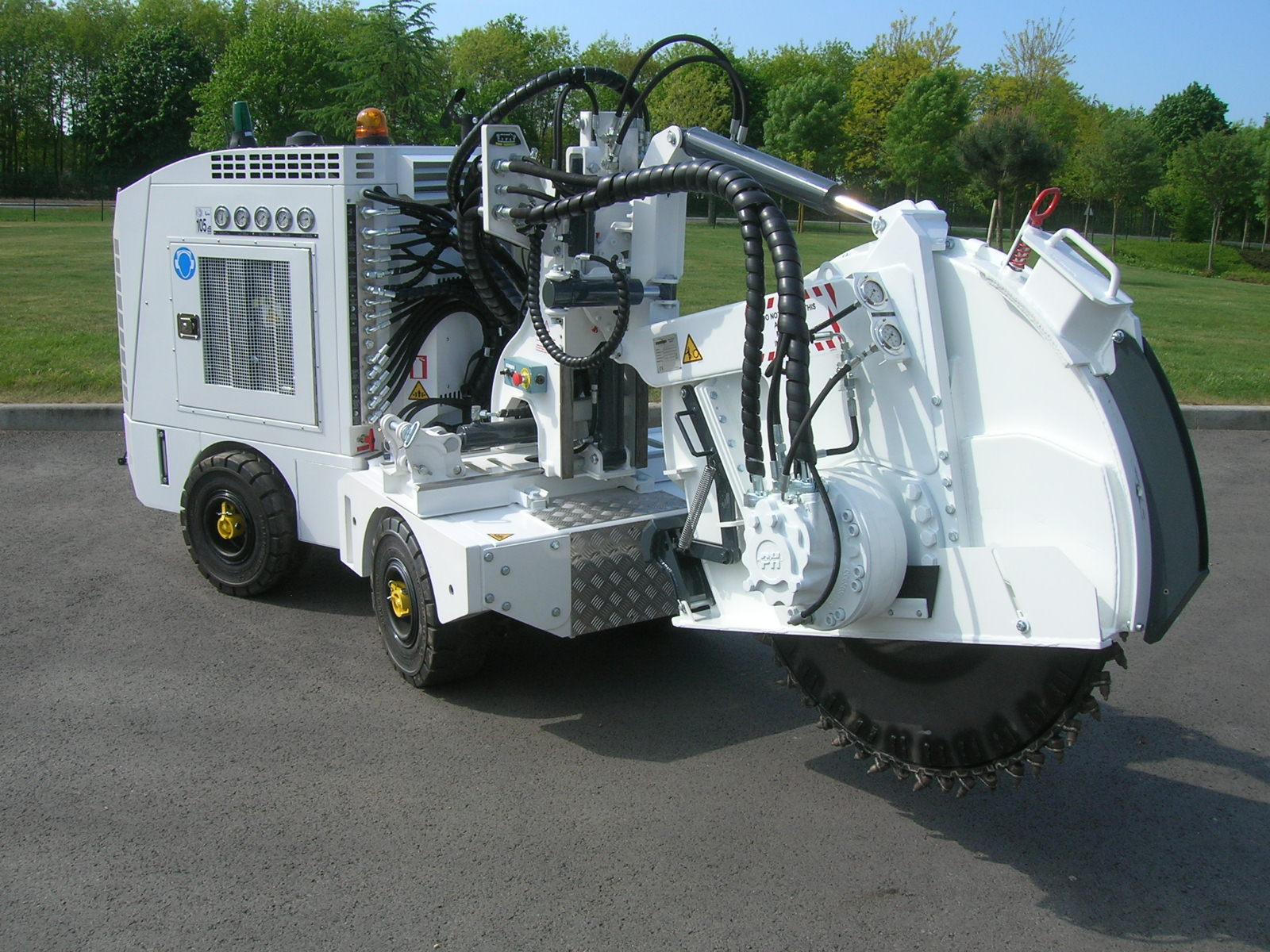 trencher machine