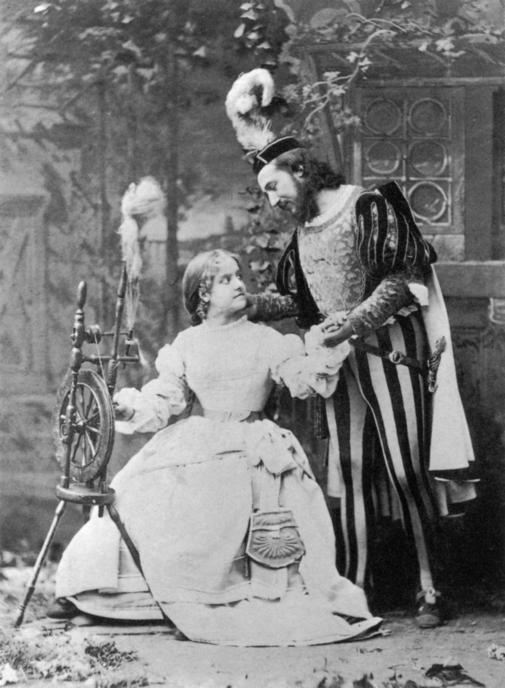 File Adelina Patti And Giovanni Mario In Faust Opera Jpg