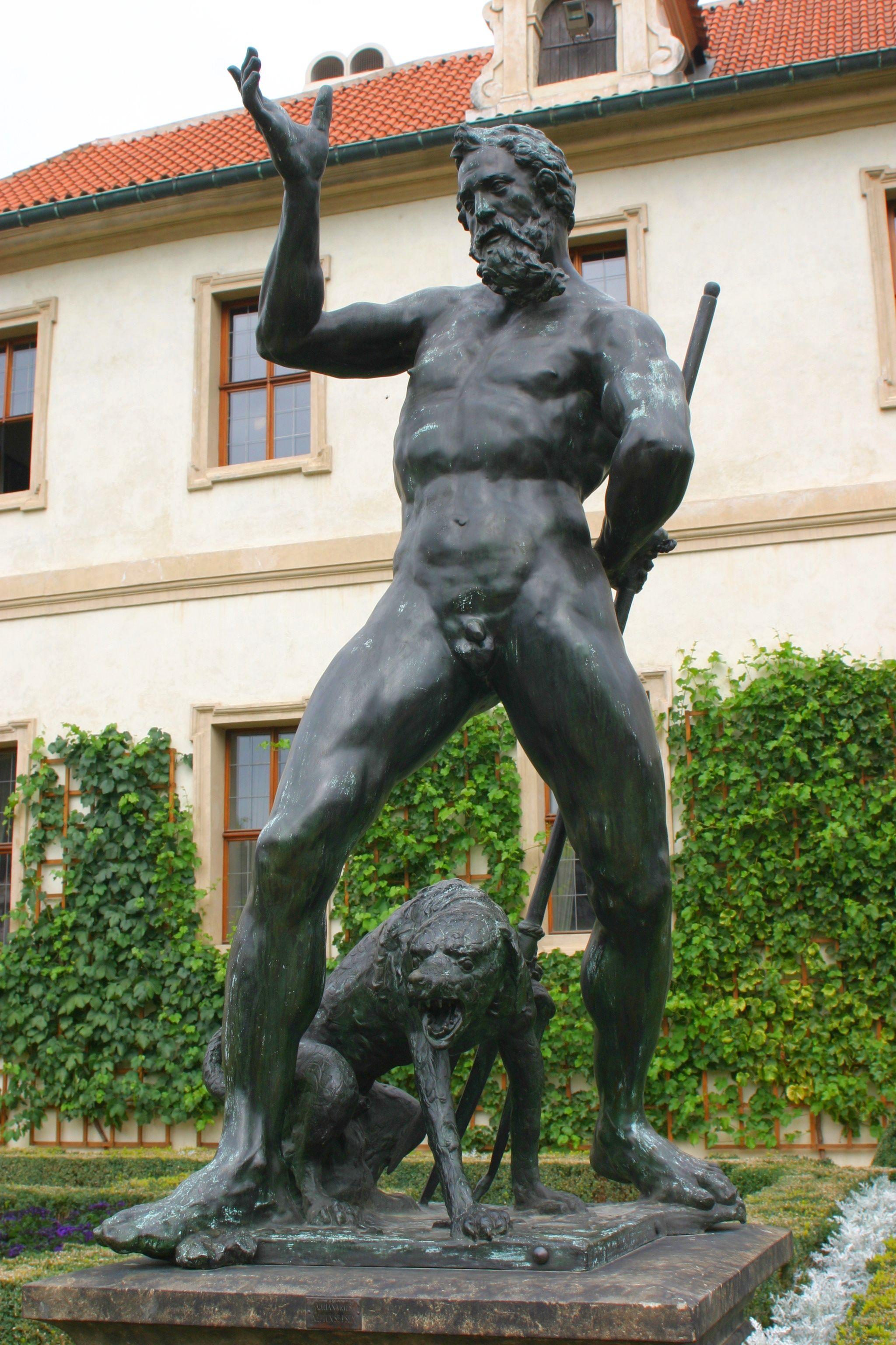 File adrian de vries for Jardin wallenstein