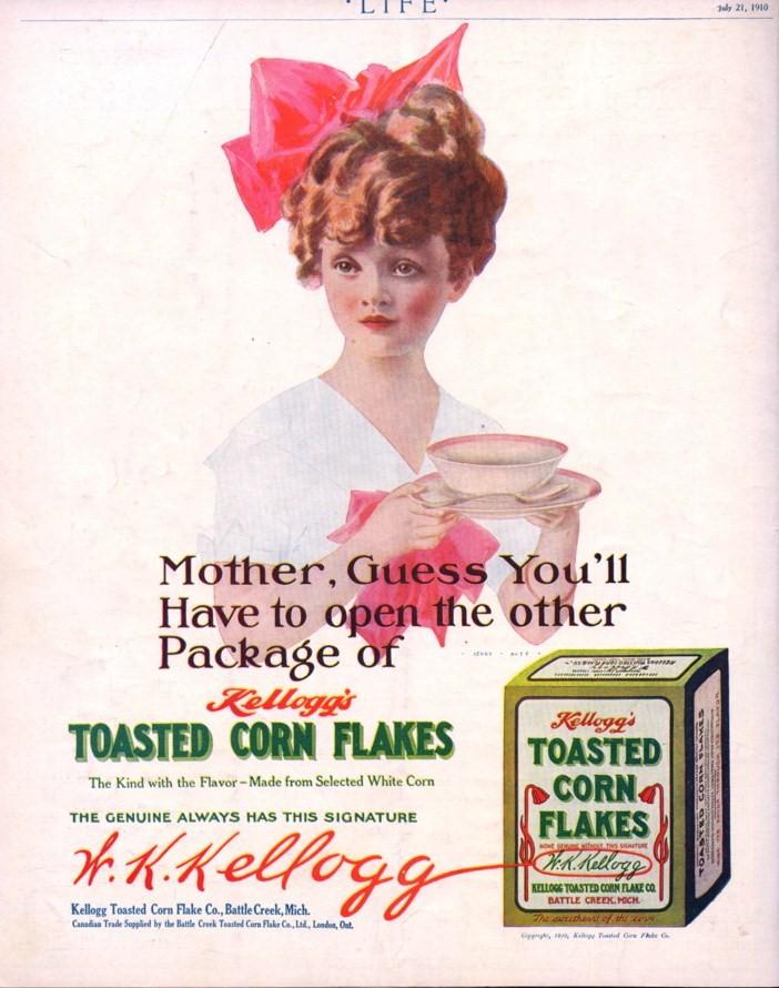 kellogs corn flakes breakfast ad