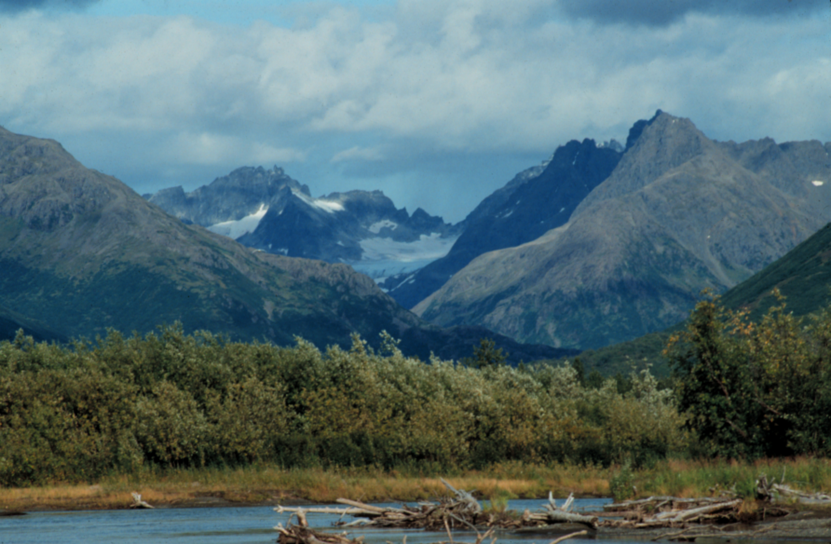 Description ahklun and wood river mountains