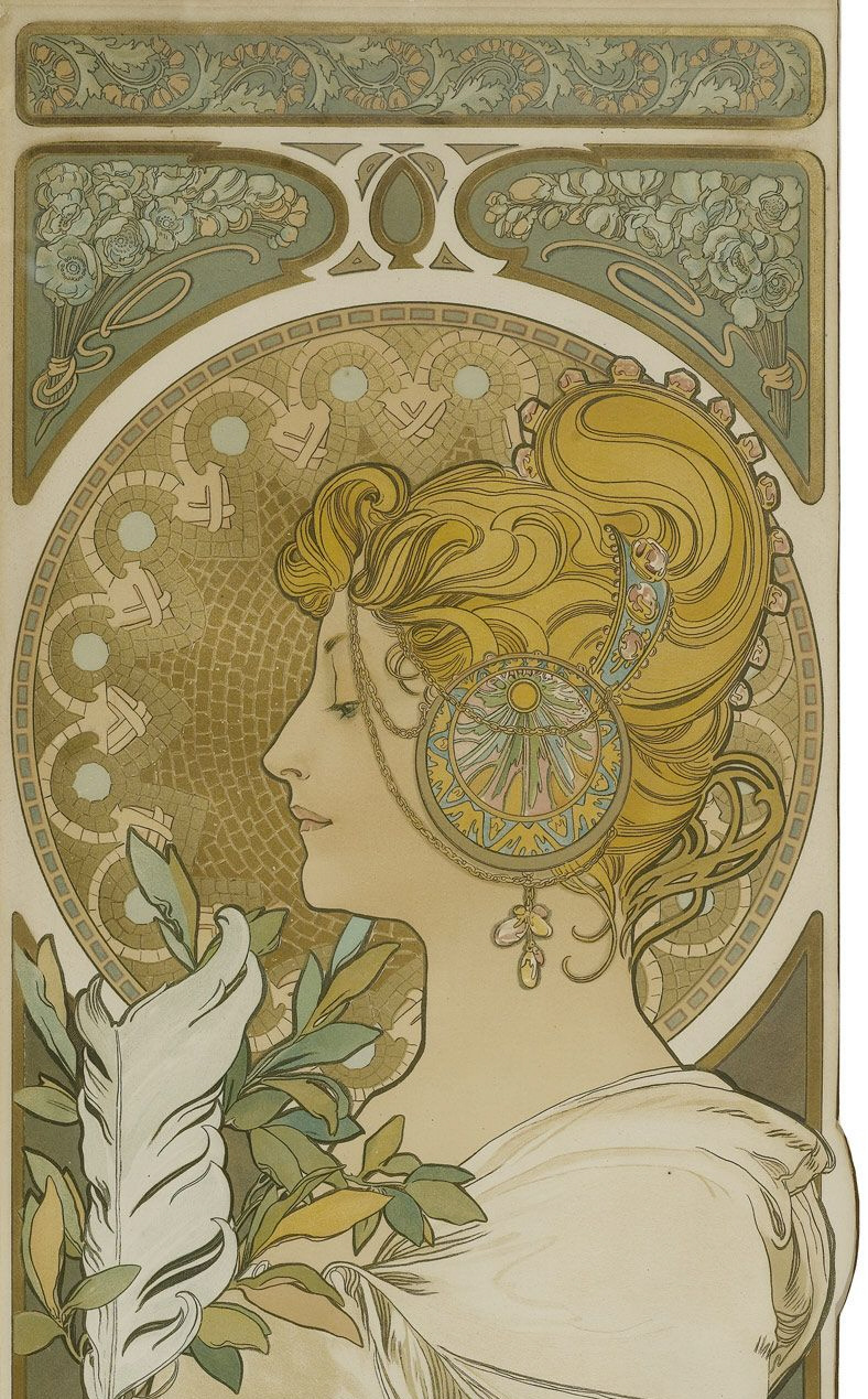 Mucha Paintings Images