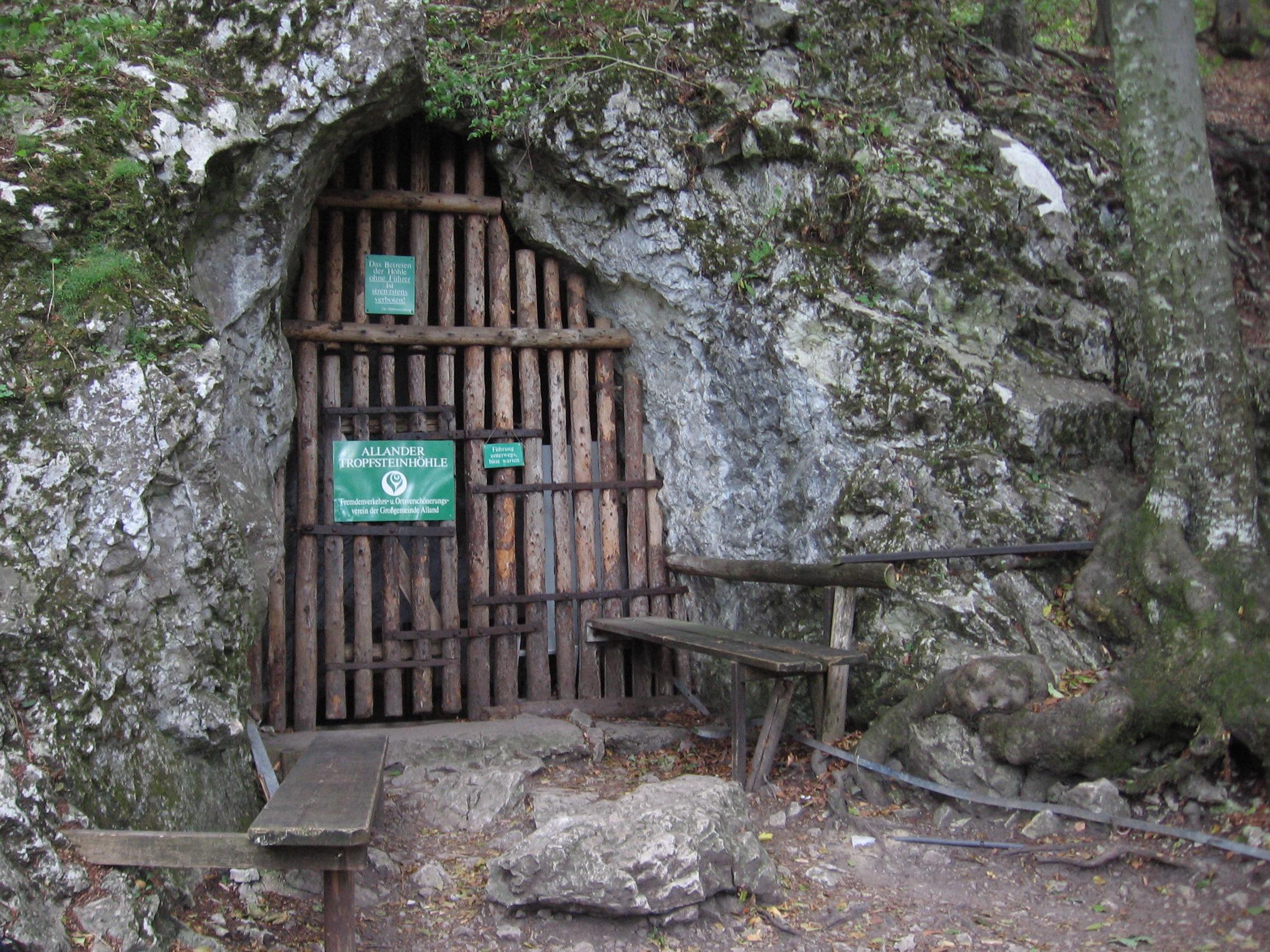 Stalactite cave of Alland - Wienerwald