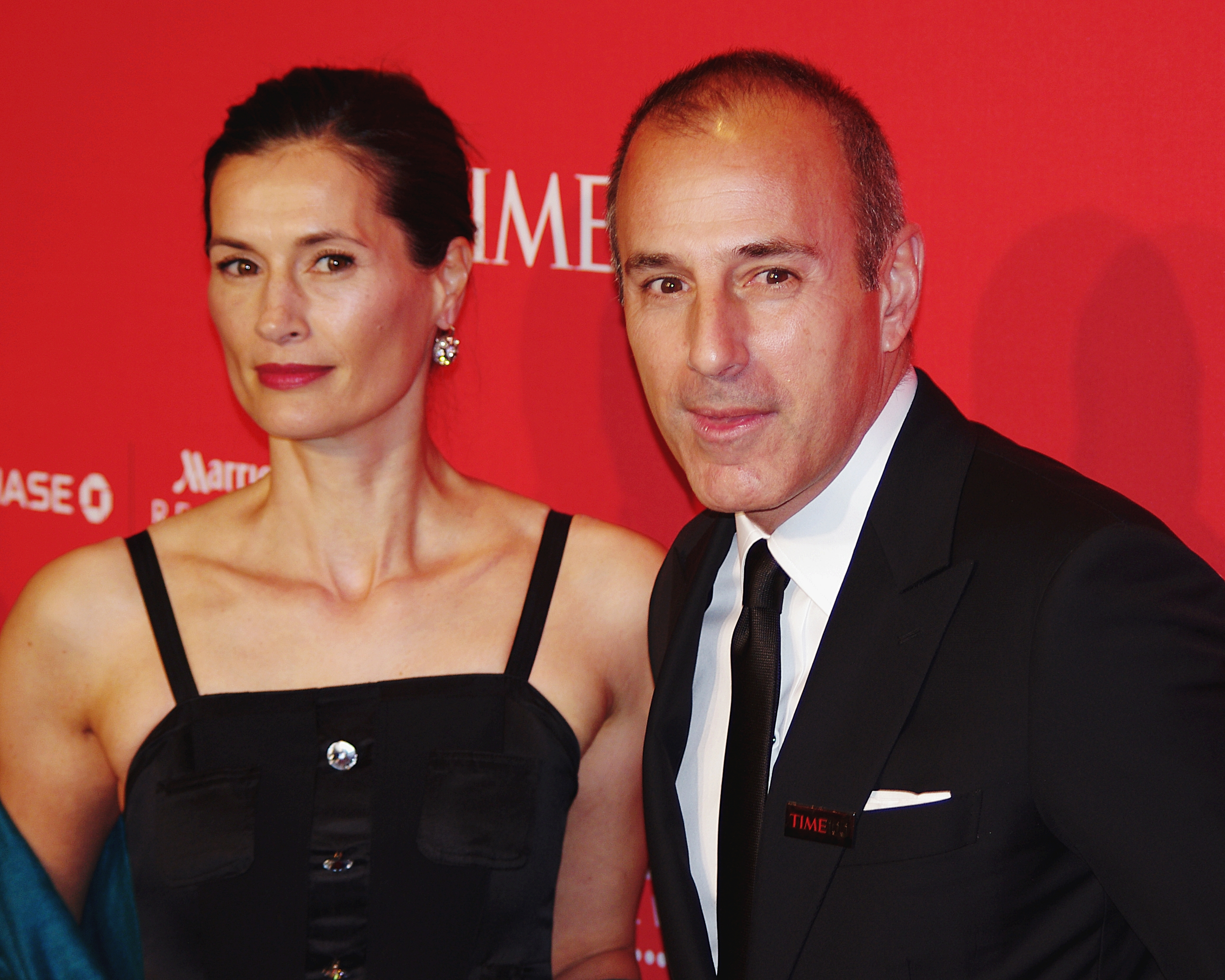 Image result for MATT LAUER AND ANNETTE ROQUE