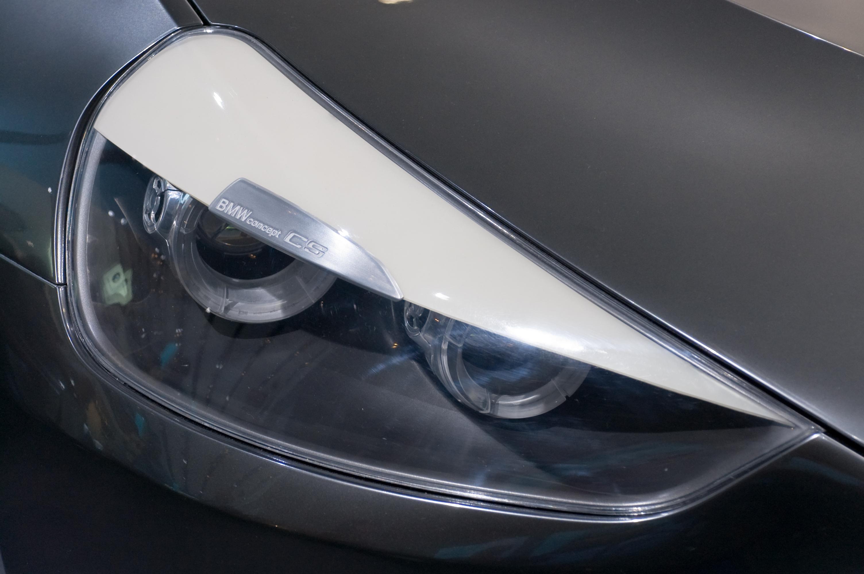 File:BMW Concept CS headlight.jpg - Wikimedia Commons