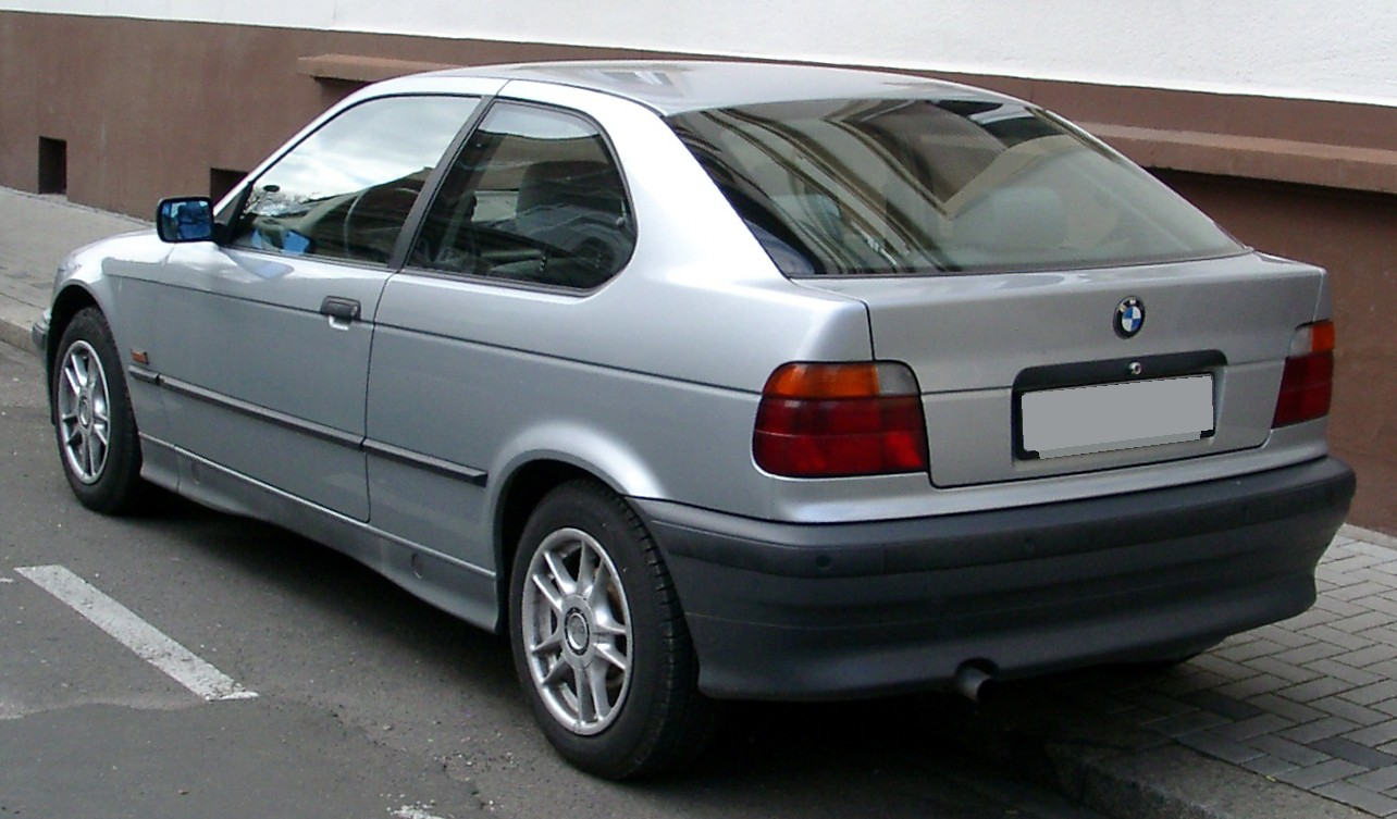 File Bmw E36 Compact Rear 20080409 Jpg Wikimedia Commons