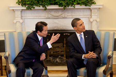 filebarack obama and taro aso in the oval officejpg fileobama oval officejpg
