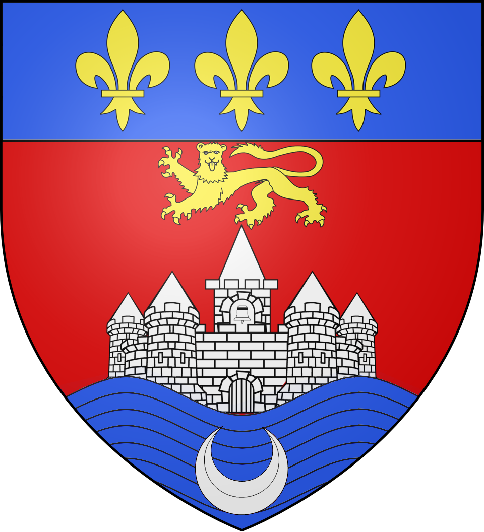 File blason ville fr wikimedia commons for Piscine de bordeaux