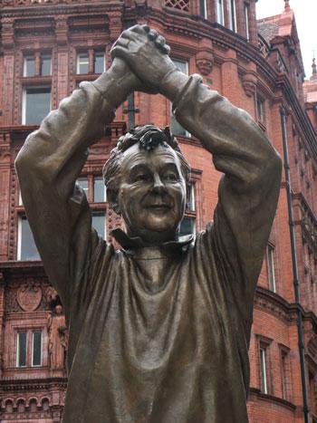Brian Clough Nottingham Statue 1
