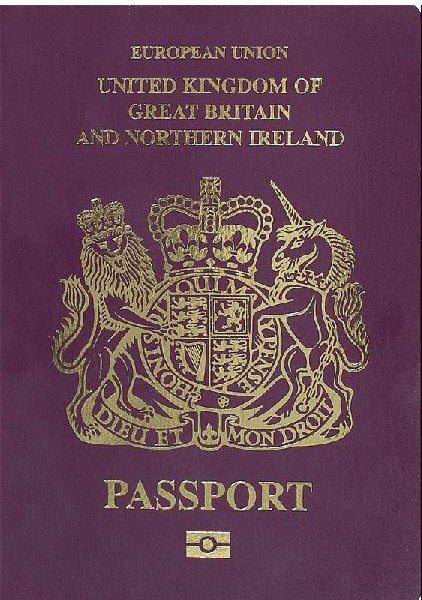 UK Passport by uk passport office [Attribution]