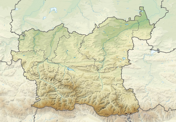 Файл:Bulgaria Lovech Province relief location map.jpg