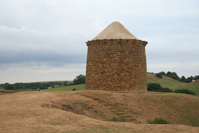 Burton Dassett Hills Country Park - the Beacon - geograph.org.uk - 1953176