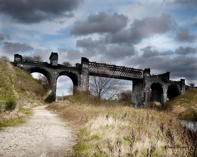 Cadishead Viaduct - geograph.org.uk - 1237419