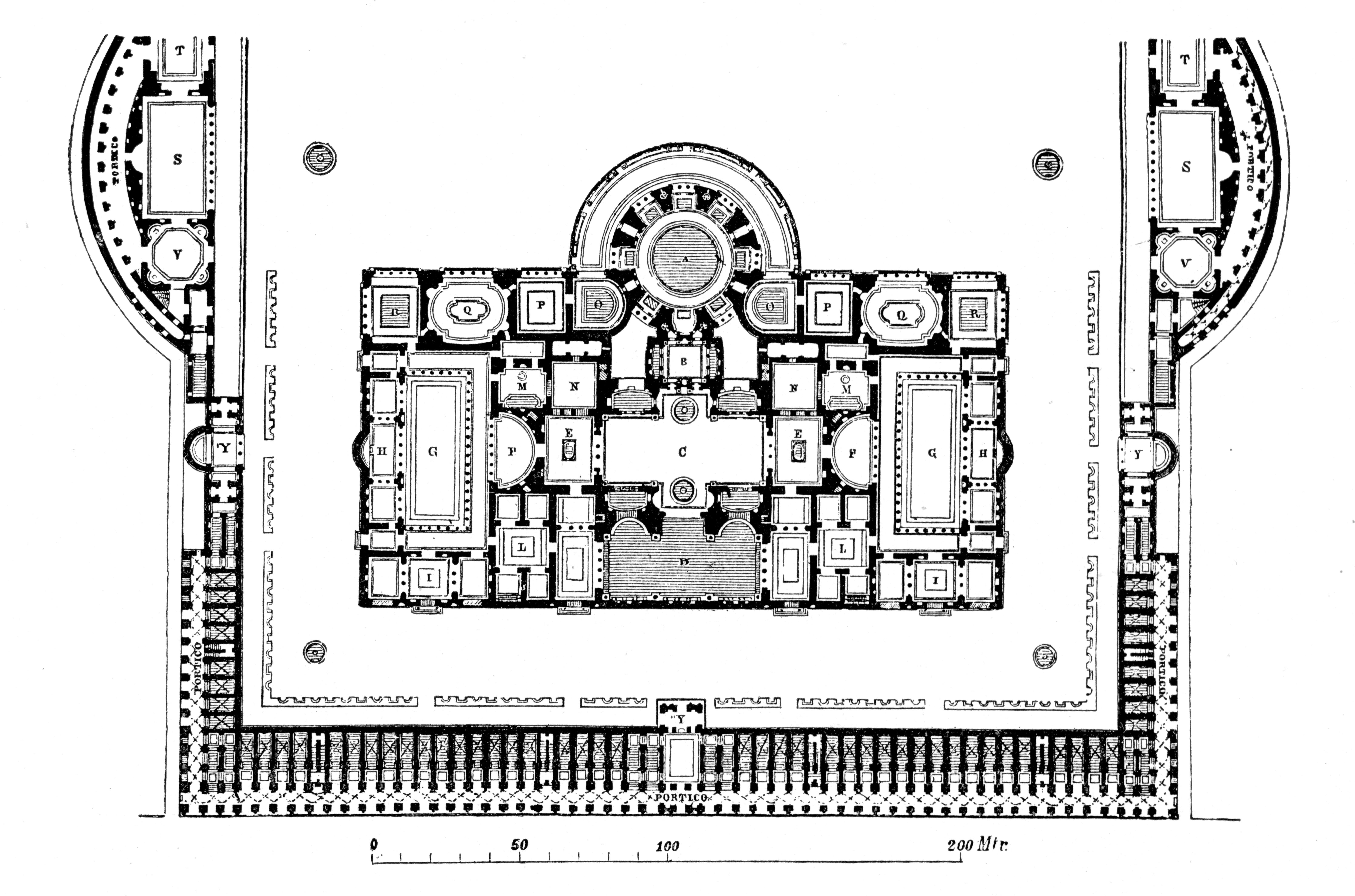file caracalla grundriss jpg wikimedia commons